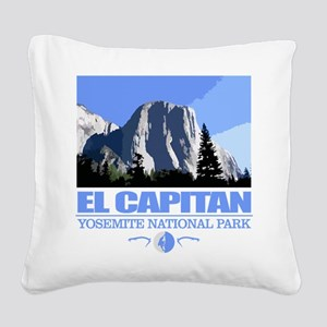 El Capitan Square Canvas Pillow