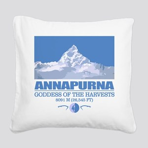 Annapurna Square Canvas Pillow