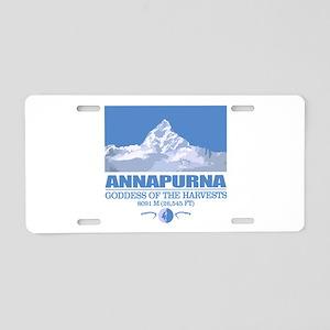 Annapurna Aluminum License Plate
