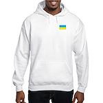 Ukranian Flag Hooded Sweatshirt