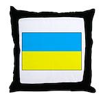 Ukranian Flag Throw Pillow