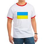 Ukranian Flag Ringer T