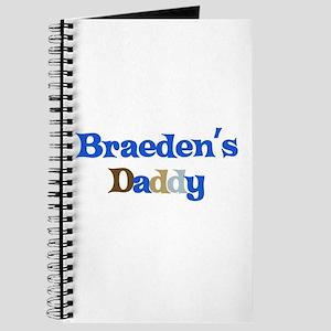 Braeden's Daddy Journal