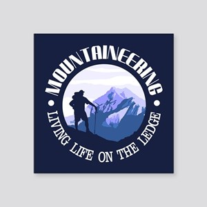 Mountaineering (Life On The Ledge) Sticker