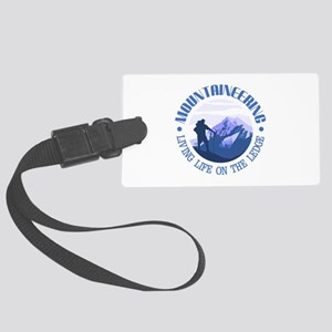Mountaineering (Life On The Ledge) Luggage Tag