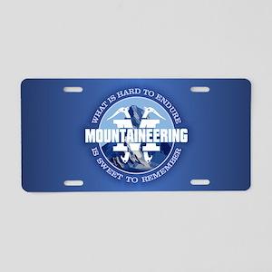 Mountaineering (Endure) Aluminum License Plate