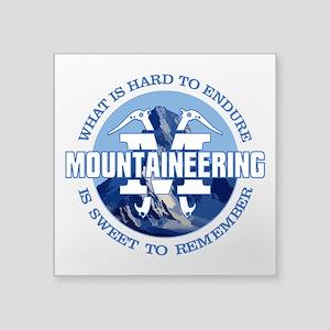 Mountaineering Sticker