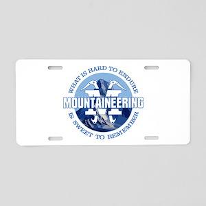 Mountaineering Aluminum License Plate