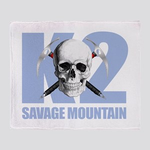 K2 Savage Mtn Throw Blanket