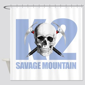 K2 Savage Mtn Shower Curtain