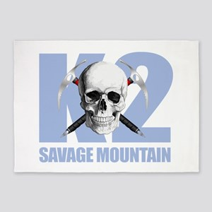 K2 Savage Mtn 5'x7'Area Rug