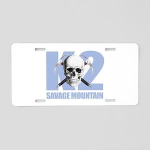 K2 Savage Mtn Aluminum License Plate