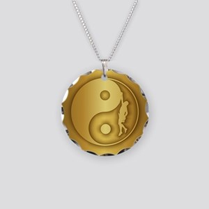 Zen Climber (gold) Necklace