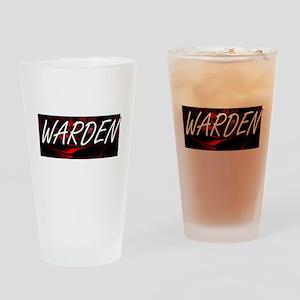 Warden Professional Job Design Drinking Glass