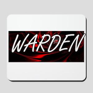 Warden Professional Job Design Mousepad