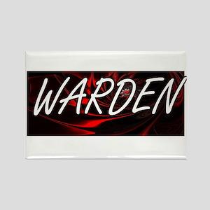 Warden Professional Job Design Magnets