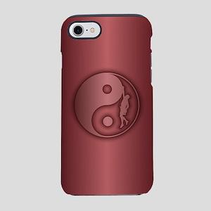 Zen Climber (crimson) Iphone 7 Tough Case