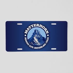 Matterhorn 2 Aluminum License Plate