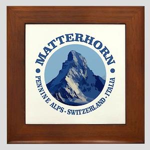 Matterhorn 2 Framed Tile
