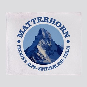 Matterhorn 2 Throw Blanket