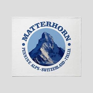 Matterhorn 2 Throw Blanket