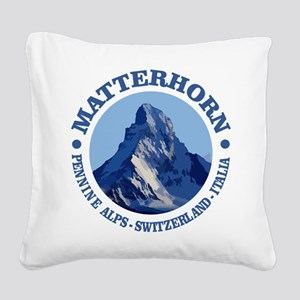 Matterhorn 2 Square Canvas Pillow