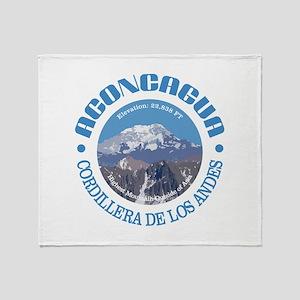 Aconcagua Throw Blanket