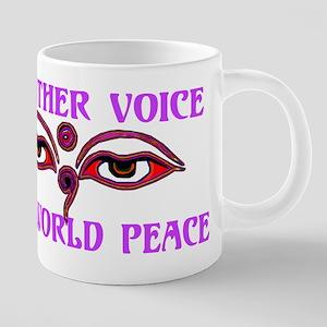 Voice For Peace 20 oz Ceramic Mega Mug