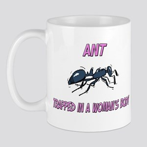 Ant Trapped In A Woman's Body Mug