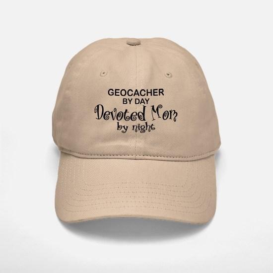Geocacher Devoted Mom Baseball Baseball Cap