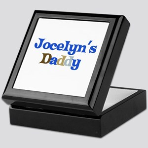 Jocelyn's Daddy Keepsake Box