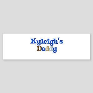 Kyleigh's Daddy Bumper Sticker