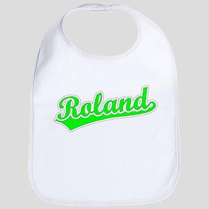Retro Roland (Green) Bib