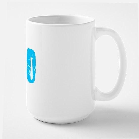 Chico Faded (Blue) Large Mug