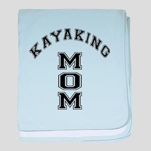 Kayaking Mom baby blanket