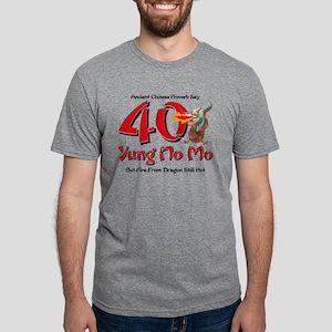 Yung No Mo 40th Birthday Mens Tri-Blend T-Shirt