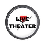 Live Theater Wall Clock