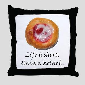 Czech Pride Kolach Throw Pillow