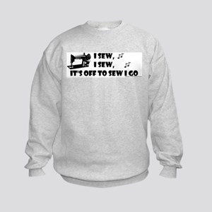 I Sew, I Sew Kids Sweatshirt