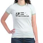 I Sew, I Sew Jr. Ringer T-Shirt