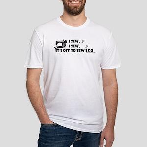 I Sew, I Sew Fitted T-Shirt