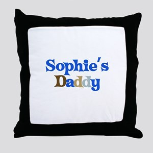 Sophie's Daddy Throw Pillow