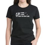 I Sew, I Sew Women's Dark T-Shirt