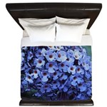 Butterfly Bush Floral King Duvet