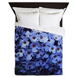 Butterfly Bush Floral Queen Duvet