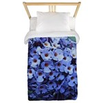 Butterfly Bush Floral Twin Duvet Cover