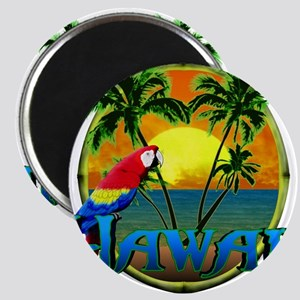 Hawaiian Sunset Magnets