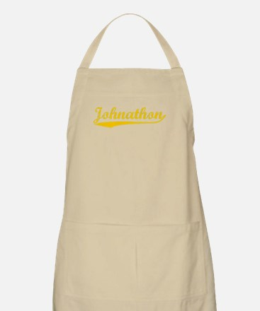 Vintage Johnathon (Orange) BBQ Apron