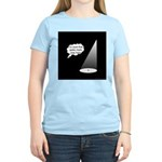 Where's The Spike Mark? Women's Light T-Shirt