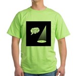 Where's The Spike Mark? Green T-Shirt
